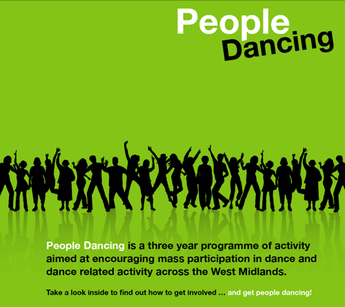 People Dancing, as it says on the brochure, is: